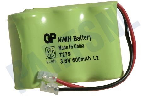 GP  Accupack 3,6 Volt -600 mAh- NiMh