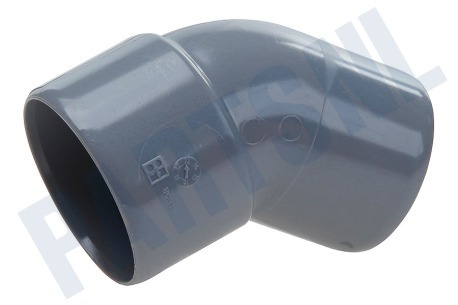 Dps  Bocht PVC 40mm 45 gr. 1x spie