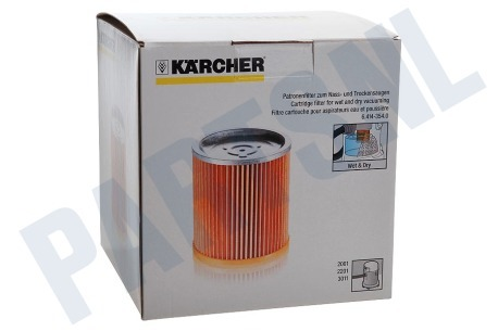 Karcher Stofzuiger Filter Cartridge Waterzuiger