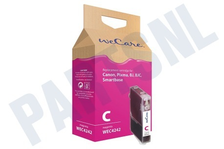Wecare Canon printer Inktcartridge Magenta/Rood