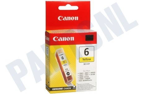Canon Printer supplies Inktcartridge BCI 6Y yellow