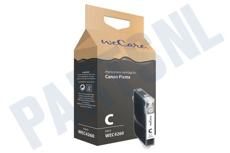 Wecare Printer supplies Inktcartridge CLI 8 Zwart + chip