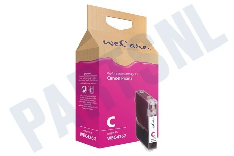 Wecare Canon printer Inktcartridge CLI 8 Magenta + chip