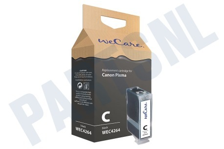 Wecare Canon printer Inktcartridge PGI 5 Black + chip