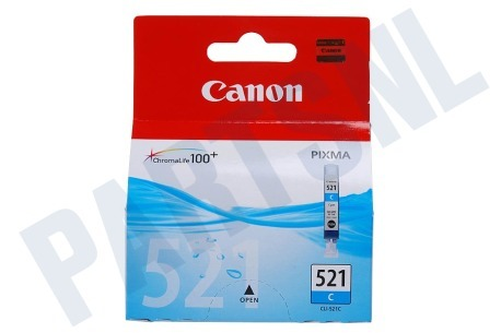 Canon Printer supplies Inktcartridge CLI 521 Cyan