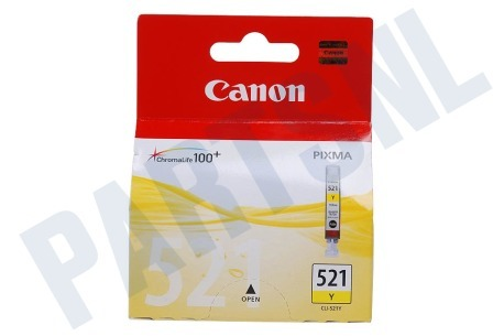 Canon Printer supplies Inktcartridge CLI 521 Yellow