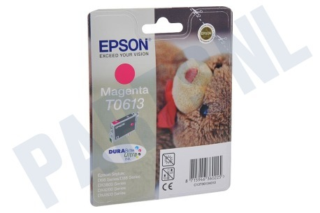 Epson Printer supplies Inktcartridge T061340 Magenta