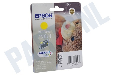 Epson Epson printer Inktcartridge T061440 Yellow