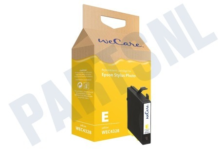 Wecare Printer supplies Inktcartridge T0554 Yellow