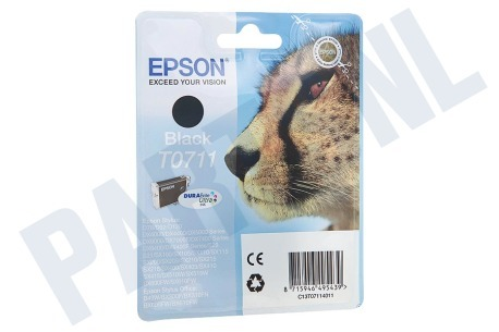 Epson Epson printer Inktcartridge T0711 Black