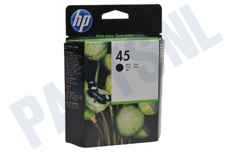 Olivetti Printer supplies HP 45 Inktcartridge No. 45 Black
