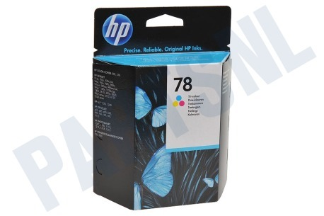HP Hewlett-Packard HP printer HP 78 Inktcartridge No. 78 Color