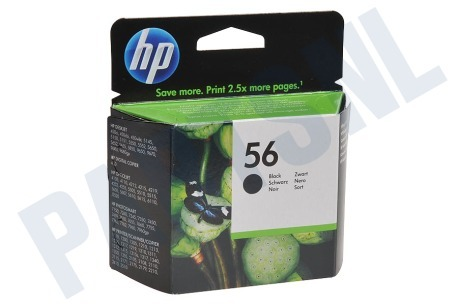 HP Hewlett-Packard Printer supplies HP 56 Inktcartridge No. 56 Black