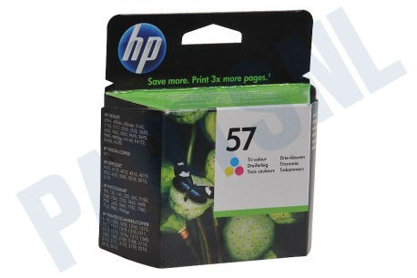 HP Hewlett-Packard HP printer HP 57 Inktcartridge No. 57 Color