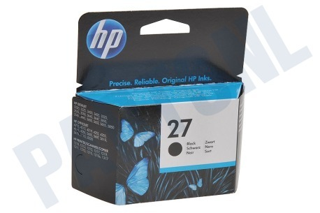 HP Hewlett-Packard Printer supplies HP 27 Inktcartridge No. 27 Black