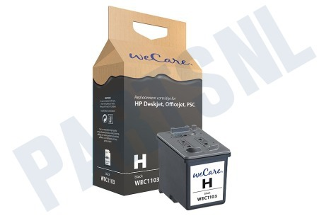 Wecare Printer supplies Inktcartridge No. 27 Black