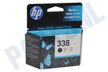 HP Hewlett-Packard Printer supplies HP 338 Inktcartridge No. 338 Black