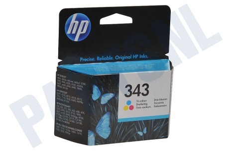 HP Hewlett-Packard HP printer HP 343 Inktcartridge No. 343 Color