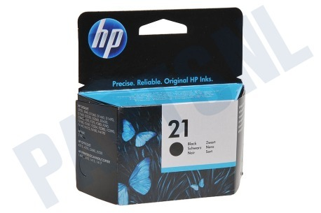 HP Hewlett-Packard Printer supplies HP 21 Inktcartridge No. 21 Black