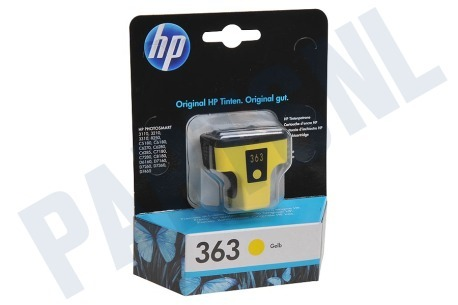 HP Hewlett-Packard HP printer HP 363 Yellow Inktcartridge No. 363 Yellow