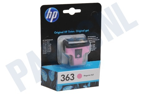HP Hewlett-Packard HP printer HP 363 Light Magenta Inktcartridge No. 363 Light Magenta