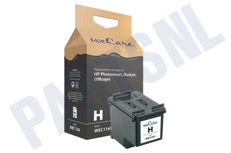 Wecare HP printer Inktcartridge No. 337 Black