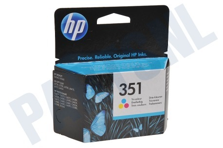 HP Hewlett-Packard HP printer HP 351 Inktcartridge No. 351 Color