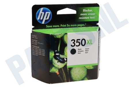 HP Hewlett-Packard Printer supplies HP 350 XL Inktcartridge No. 350 XL Black