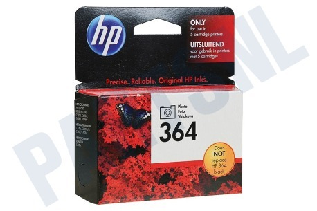 HP Hewlett-Packard HP printer HP 364 Photo Black Inktcartridge No. 364 Photo Black