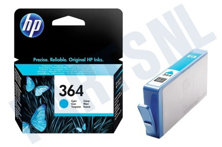 HP Hewlett-Packard HP printer HP 364 Cyan Inktcartridge No. 364 Cyan