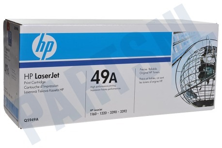 HP Hewlett-Packard HP printer Tonercartridge No. 49A, black