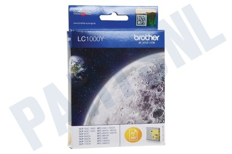 Brother Printer supplies Inktcartridge LC 1000 Yellow