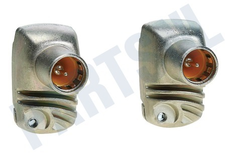 Technetix  F-connector Haaks, metaal