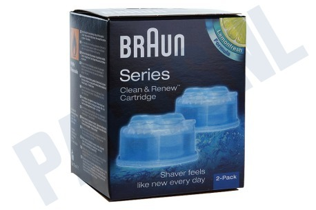 Braun  Reiniger clean & renew cartridge