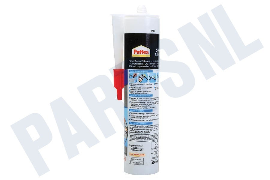 Pattex  Speed Silicone, Wit