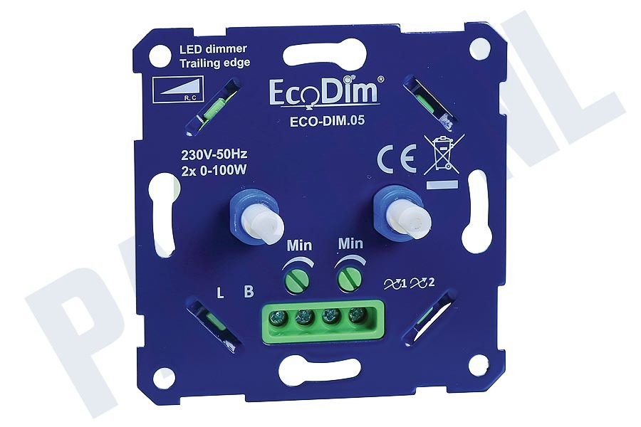 Ecodim  LED Duo Dimmer Fase Afsnijding