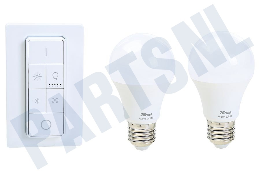Lampen Op Afstandsbediening : Trust zled 2709r zigbee starter set: 2 led lampen