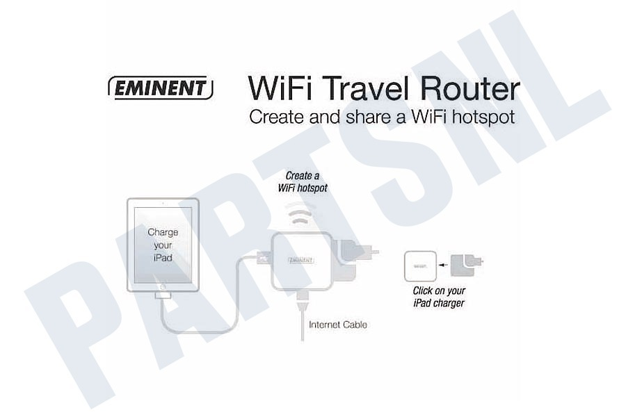 Eminent  Travelrouter WiFi Travel Router