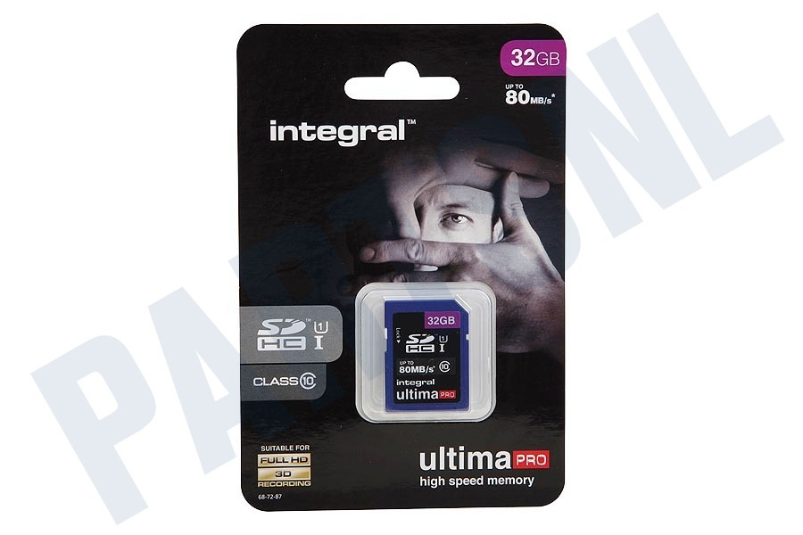 Integral  Memory card Class 10 80MB/s