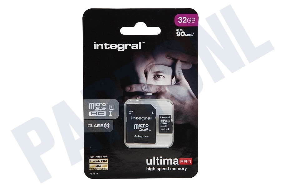 Integral  Memory card Class 10 (incl.SD adapter)