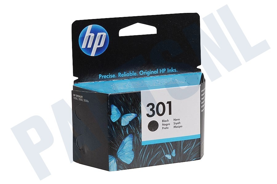 HP Hewlett-Packard HP printer HP 301 Black Inktcartridge No. 301 Black