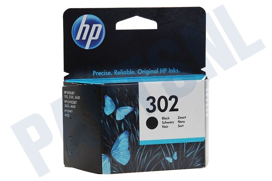 HP Hewlett-Packard  F6U66AE HP 302 Black
