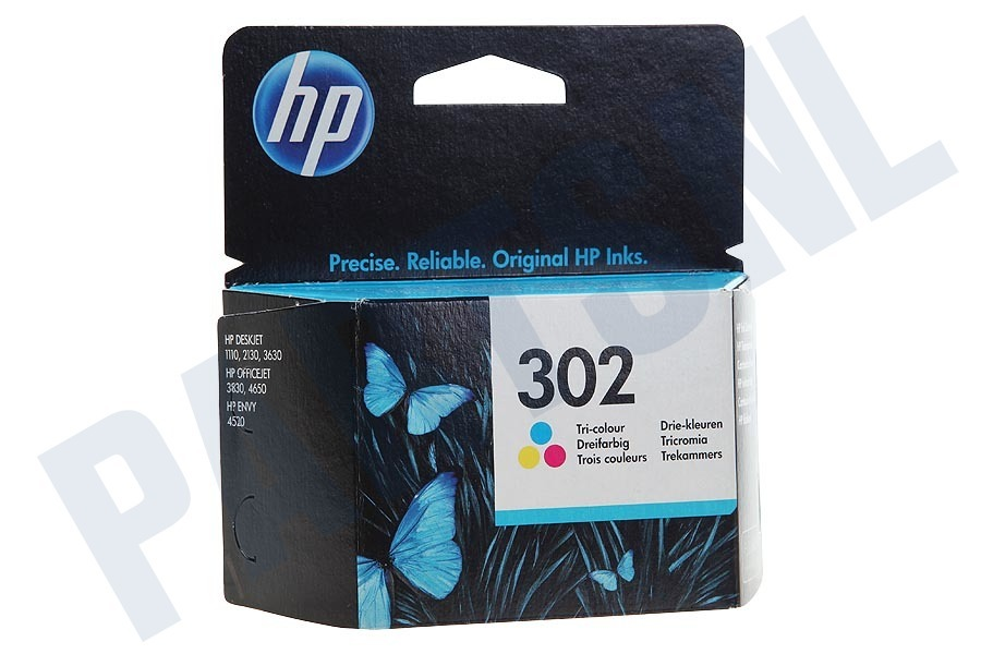 HP Hewlett-Packard  F6U65AE HP 302 Color